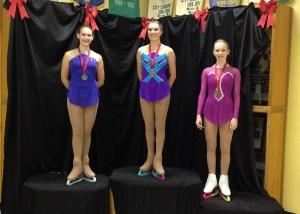 Novice Ladies Free Podium Super Skate 2015 (edited)