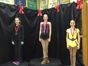 Pre-Novice Long Podium SuperSkate 2015